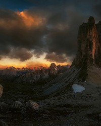 Dolomites Italy Wall Mural by