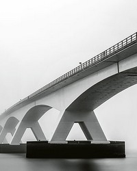Bridge Architecture Wall Mural by