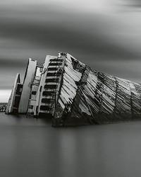 Modern Wreck Wall Mural by