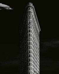 Iron Building New York Wall Mural by