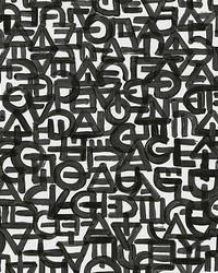 Black Urban Typography Wall Mural by