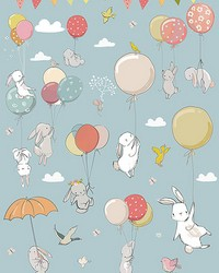 Kids Party Wall Mural by