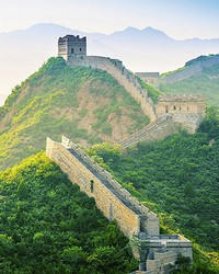 Wall of China at Jinshanlinge Wall Mural by