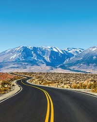 Road Trip USA Wall Mural by