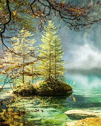 Blausee Switzerland Wall Mural by