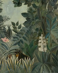 The Equatorial Jungle Wall Mural by