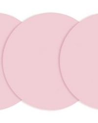 Blush Dry Erase Dots by  Brewster Wallcovering