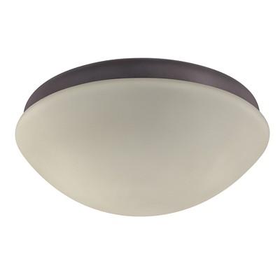 hunter fan Outdoor Globe Light Kit - New Bronze - ETL Wet 22057 ACC Hunter Ceiling Fan Light Kits