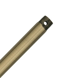 12in Extension Downrod - Antique Brass