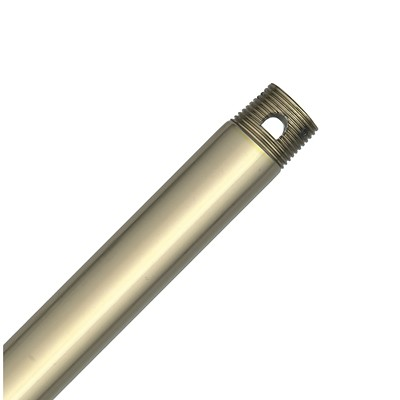 hunter fan 18in Extension Downrod - Hunter Bright Brass Finish 22723 ACC