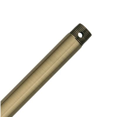 hunter fan 72in Extension Downrod - Antique Brass 23060 ACC