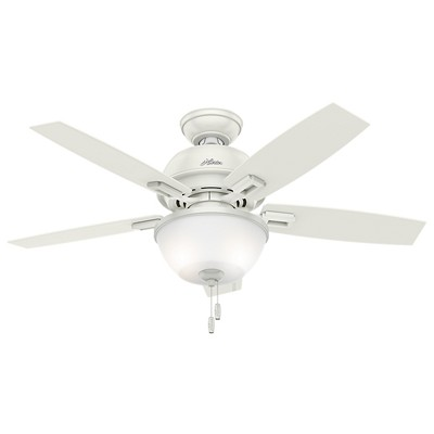 hunter fan Donegan Collection - 44in Fresh White Bowl Light Kit 52226 FAN Donegan 44in Fresh White Bowl Light Kit