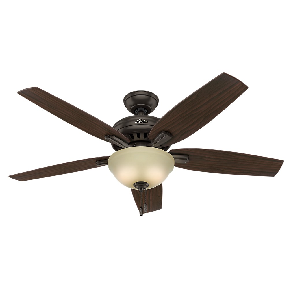 Hunter Morelli 52 Led Brushed Nickel Ceiling Fan At Menards: Newsome 52in