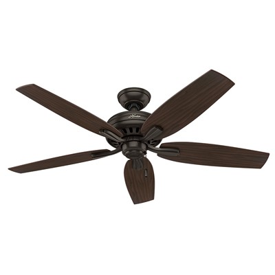hunter fan Newsome Collection - 52in Premier Bronze No Light Kit 53320 FAN Newsome 52in Premier Bronze Fan