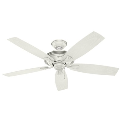 hunter fan Rainsford - 52in Fresh White ETL Wet 53346 FAN Rainsford 52in Fresh White ETL Wet Fan