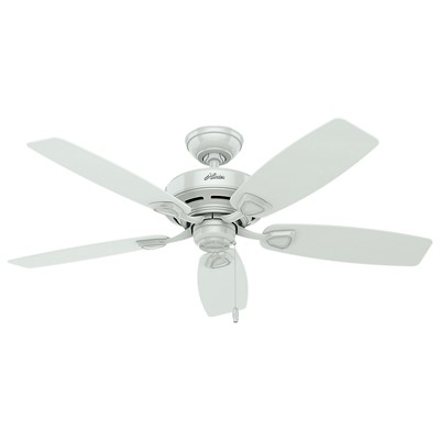 hunter fan Sea Wind Collection - 48in White ETL Damp 53350 FAN Hunter Ceiling Fans  Sea Wind 48in White ETL Damp Fan
