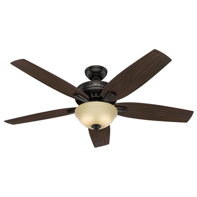 hunter fan Newsome Collection - 56in Premier Bronze Bowl Light Kit 54161 FAN Newsome 56in Premier Bronze Fan Hunter Ceiling Fans