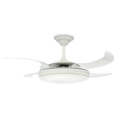 hunter fan 48in Fanaway - White Integrated Light Kit 59086 FAN Fanaway 48in White Ceiling Fan