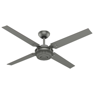 hunter fan Chronicle - 54in Brushed Slate 59236 FAN Chronicle 54in Brushed Slate Ceiling Fan Hunter Outdoor Ceiling Fans Chronicle 54in Brushed Slate Ceiling Fan Damp