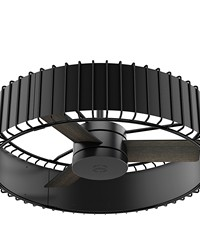 Vault - 30in Matte Black + Gloss Black FAN