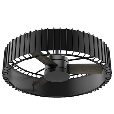 hunter fan Vault - 30in Matte Black + Gloss Black 59255 FAN Vault 30in Black Ceiling Fan Hunter Ceiling Fans