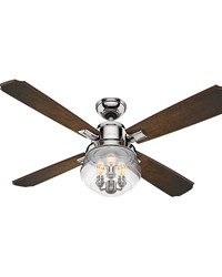 Sophia - 54in Polished Nickel FAN