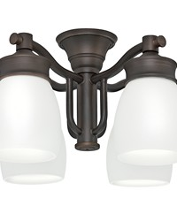 Outdoor Fourlight Fixture Brushed Cocoa by