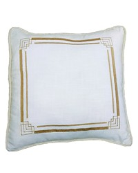 Hollywood Embroidery Euro Sham 27x27 by