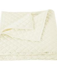 Velvet Quilt SuperKing Cream by