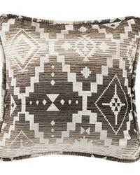 Square Aztec Pillow 18x18 by