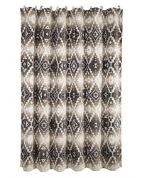 Chalet Aztec Shower Curtain 72x72 by