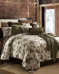 Forest Pine Comforter Set Queen by