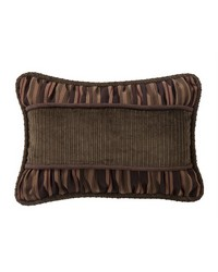 Corduroy Pillow with Rouching Details by