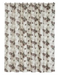 Forest Pines Shower Curtain 72x72 by