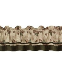 Forest Pine Valance 84x18 by