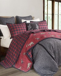 2-PC Woodland Plaid Quilt Set Twin by