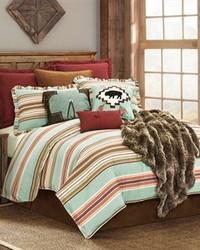 3PC Serape Comforter Set Full by