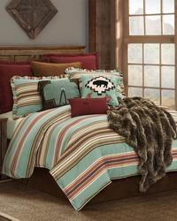 2PC Serape Comforter Set Twin by