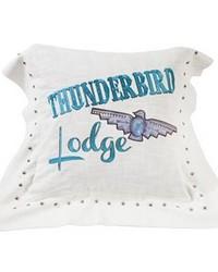 Thunderbird Linen Pillow by