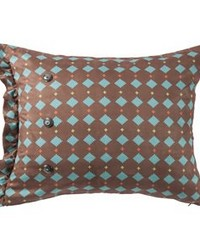 Diamond Suede Pillow by