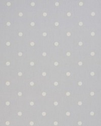 Clarke and Clarke Dotty F0063 Grey Fabric