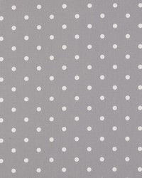 Clarke and Clarke Dotty F0063 Smoke Fabric