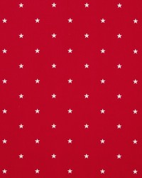 Clarke and Clarke ETOILE F0519/05 CAC RED Fabric