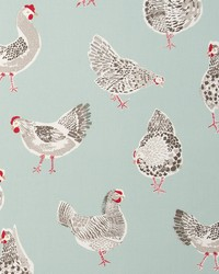 Clarke and Clarke ROOSTER F0523/02 CAC DUCKEGG Fabric