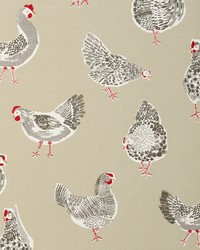 Clarke and Clarke ROOSTER F0523/03 CAC SAGE Fabric