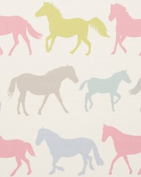 Clarke and Clarke STAMPEDE F0528/04 CAC SORBET Fabric