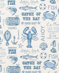 SEAFOOD F0641/01 CAC BLUE by