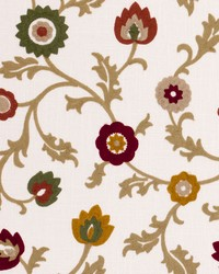 Clarke and Clarke Kashmir F0653 Spice Fabric