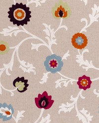 Clarke and Clarke Kashmir F0653 Summer Fabric
