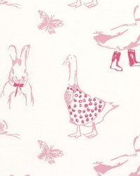 Clarke and Clarke Jemima Pink Fabric